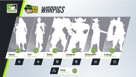 A WarPigs foi a grande vencedora da última etapa, vencendo contra a Dignity na grande final. | Imagem: Blizzard/Reprodução - Overwatch