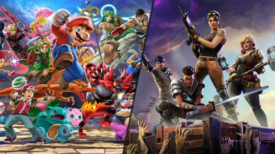 Fortnite e Super Smash Bros. podem ter crossover em breve