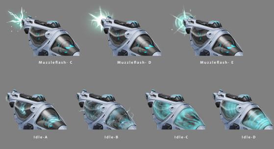 Conceito de efeitos visuais - Foto: Riot Games/Reprodução - Valorant