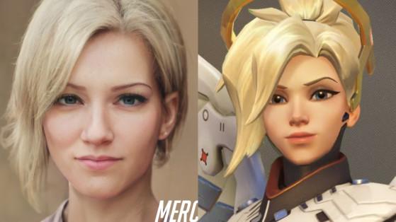 Fã cria retratos incrivelmente realistas de heróis de Overwatch