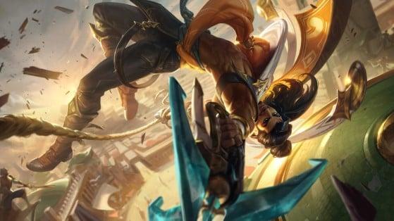Akshan não será tão opressor nos níveis iniciais - League of Legends