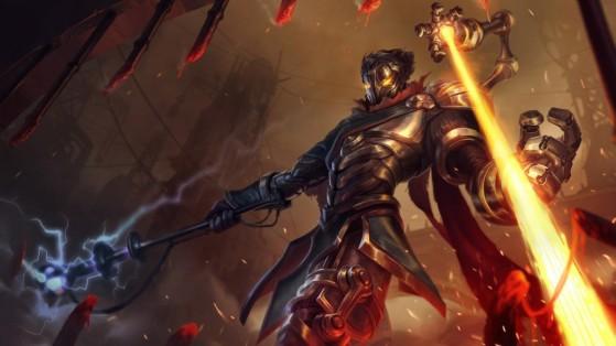Viktor serviu de inspiração para o passivo de Akshan - League of Legends