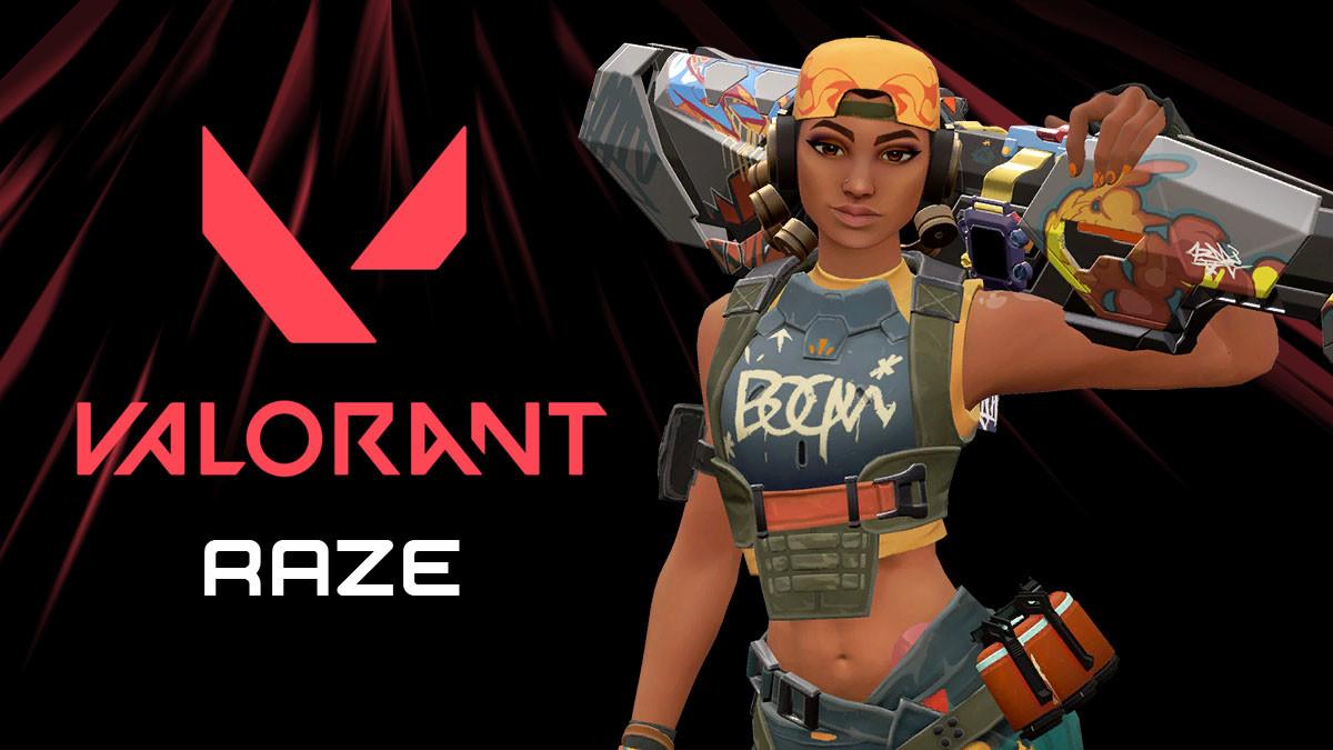 Valorant: Raze, skills da agente, apresentação - Millenium