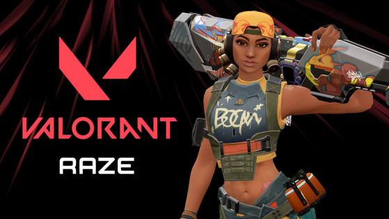 Valorant: Raze, skills da agente, apresentação
