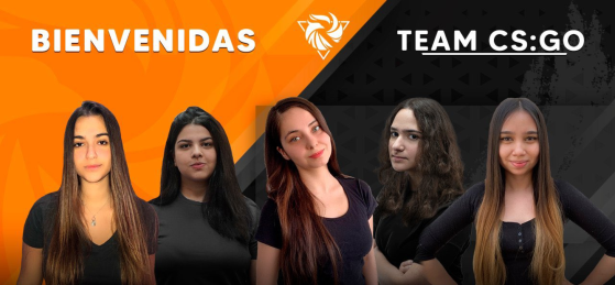 CS:GO: Rebirth Esports anuncia line-up feminina com 3 brasileiras e 2 chilenas