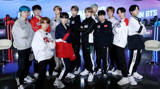 Faker e T1 jogam LoL com BTS em programa do grupo de k-pop