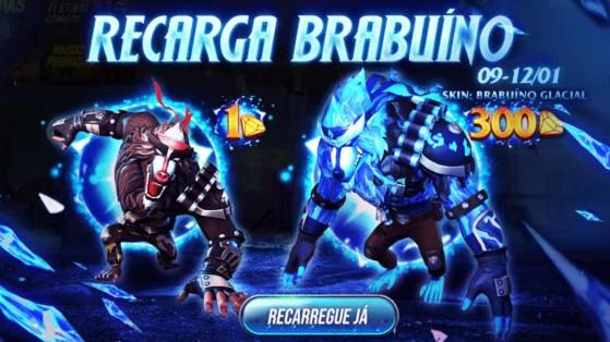 Free Fire: Evento de recarga garante novo pet Brabuíno