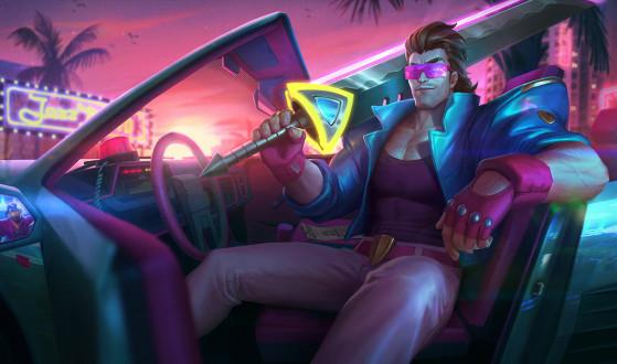 Lucian Demacia Vice | Foto: Riot Games/Reprodução - League of Legends
