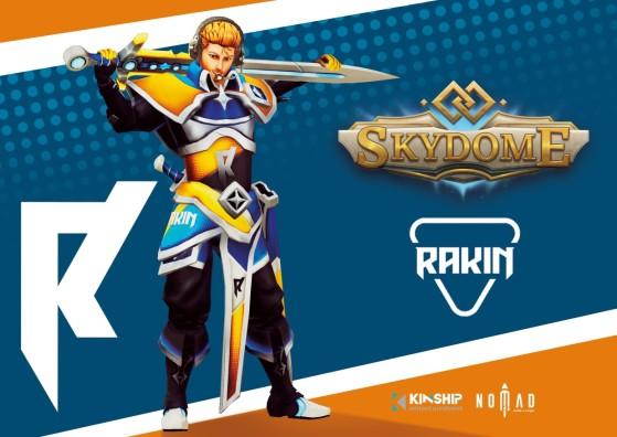 Rakin ganha skin especial em Skydome, jogo do estúdio brasileiro Nomad