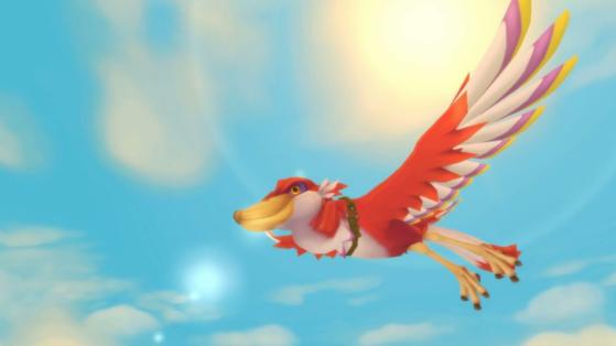 Heart Pieces em Zelda Skyward Sword HD: The Sky