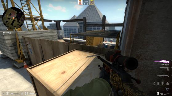 O que você enxerga no pezinho - Counter-Strike: Global Offensive