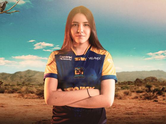 Harumi foi a primeira jogadora brasileira a participar de um torneio oficial da Riot Games, em 2020 | Foto: Rensga/Reprodução - League of Legends