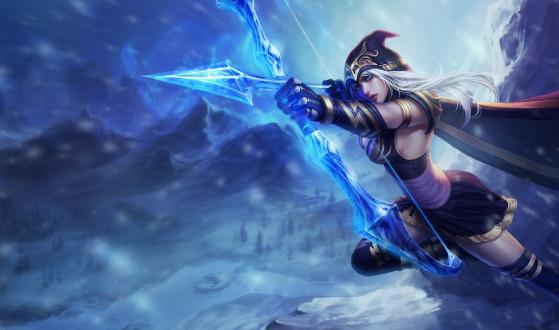 Ashe | Foto: Riot Games/Reprodução - League of Legends