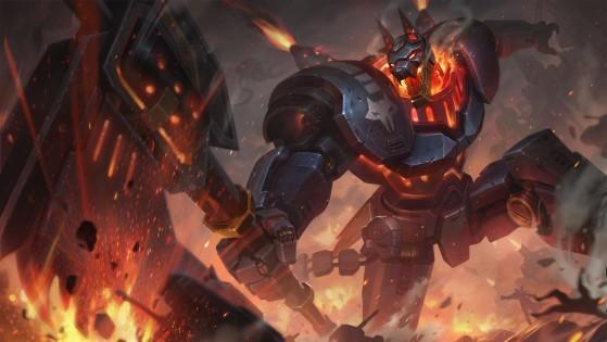 Nasus Máquina de Combate | Imagem: Riot Games/Reprodução - League of Legends