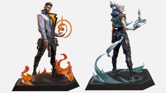 Valorant: Riot lança estátuas de Jett e Phoenix que fazem jus aos duelistas