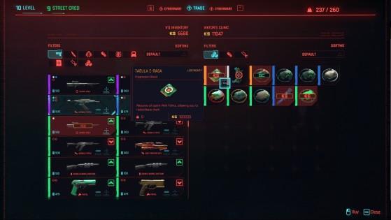 Cyberpunk 2077 permite a redistribuição de atributos e habilidades, mas por um custo bem alto (Foto: Divulgação/CD Projekt Red) - Cyberpunk 2077