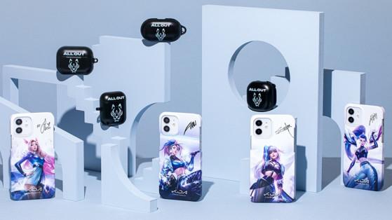LoL: Essas capinhas de celular do K/DA são perfeitas para os BLADES