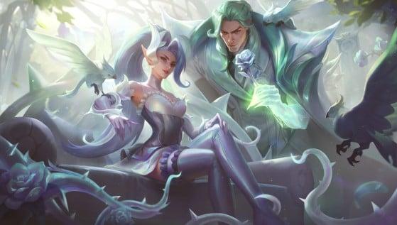 Zyra e Swain Rosa de Cristal   Foto: Riot Games/Reprodução - League of Legends