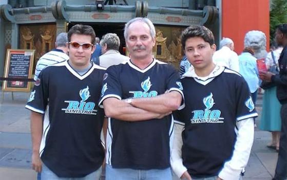 Paulo Velloso com cogu e ellllll na época do Rio Sinistro | Foto: Reprodução - Counter-Strike: Global Offensive