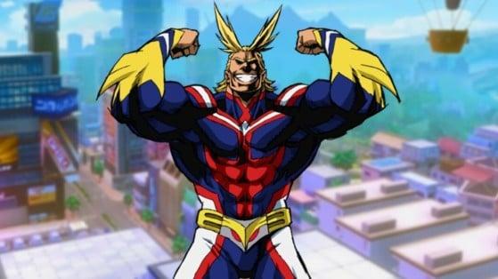 My Hero Academia The Strongest Hero: Build de All Might, talentos e mais