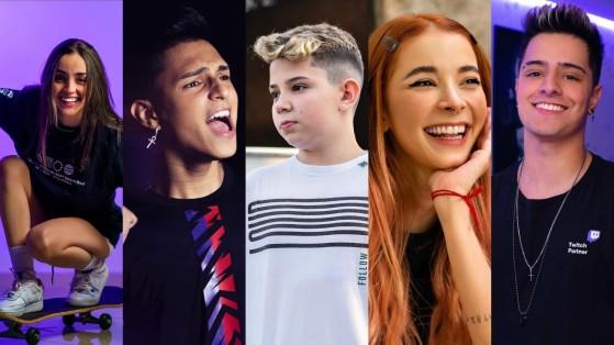 LOUD, Nobru, Babi, Thaiga, Coringa e Thurzin são finalistas do Prêmio Jovem Brasileiro 2021