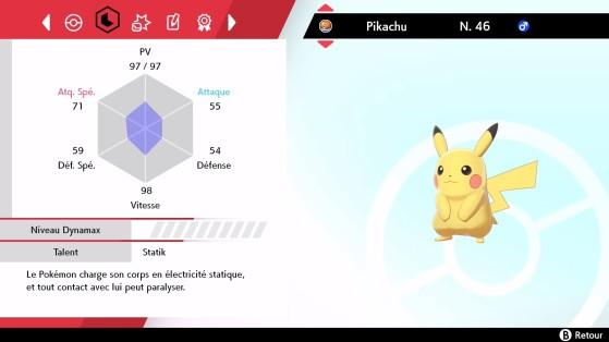 Depois de usar uma erva modesta - Pokémon Sword and Shield