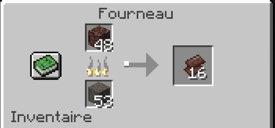 Cozinhe os detritos antigos para obter fragmentos - Minecraft