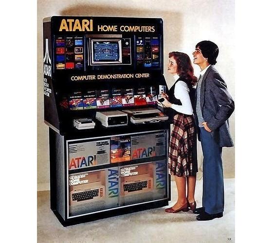 Propaganda da Atari mostra uma mulher e um homem | Foto: Reprodução - League of Legends