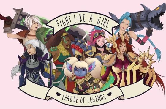 Projeto Fight Like a Girl com campeãs do League of Legends | Foto: Carolina Porifirio - League of Legends