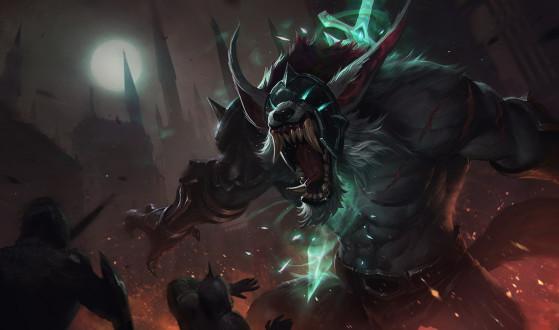 Warwick Cinzento | Foto: Riot Games/Reprodução - League of Legends