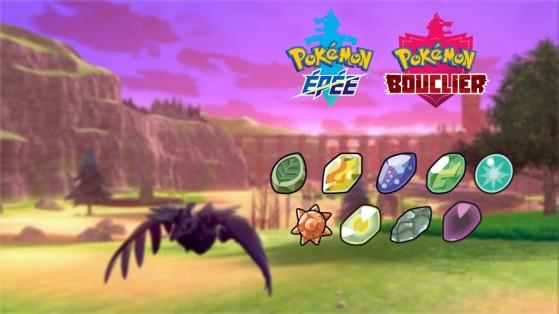 Guia Pokémon Sword and Shield: Como obter pedras de evolução?