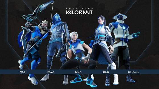 Valorant: Falkol anuncia nova equipe com Pava, Bld, Mch, Qck e Khalil