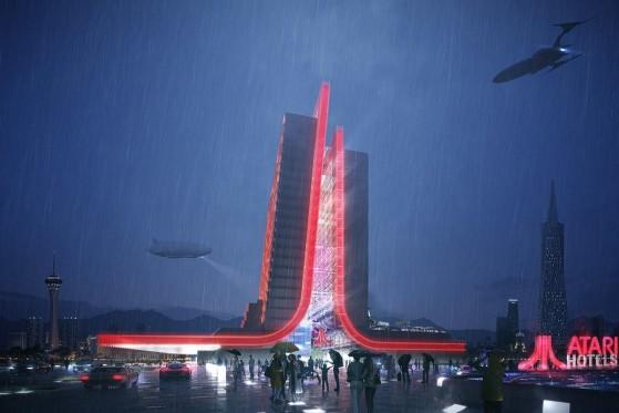 Atari revela visual de hotéis temáticos que serão inaugurados em 2022