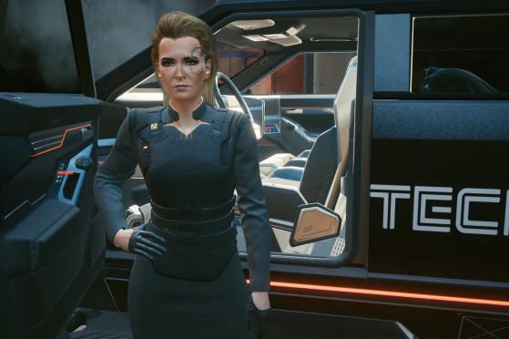 Meredith Stout pode desenvolver um romance com V independentemente do gênero do/da protagonista - Cyberpunk 2077