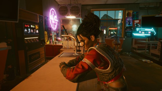 Para engatar um romance com Palmer, você precisa ajudá-la em sua vingança - Cyberpunk 2077