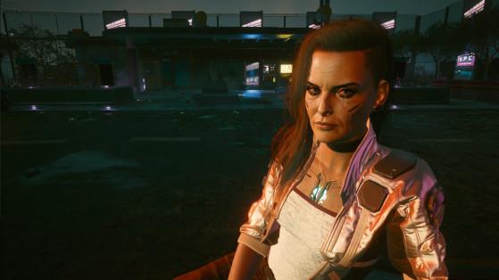 O romance com Rogue só é concretizado na parte final da campanha - Cyberpunk 2077