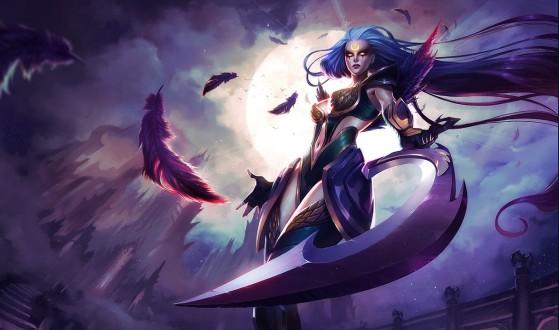 Diana Valquíria Sombria - League of Legends