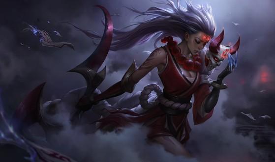 Diana Lua Sangrenta - League of Legends