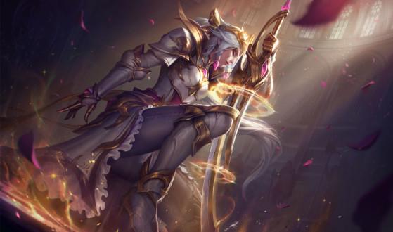 Diana Rainha de Batalha Edição de Prestígio - League of Legends