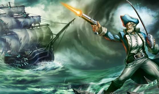 Gangplank Milícia - League of Legends