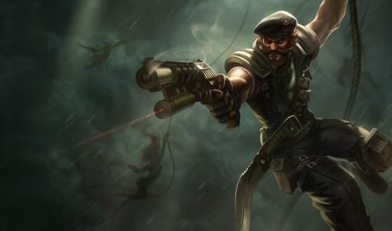Gangplank Forças Especiais - League of Legends