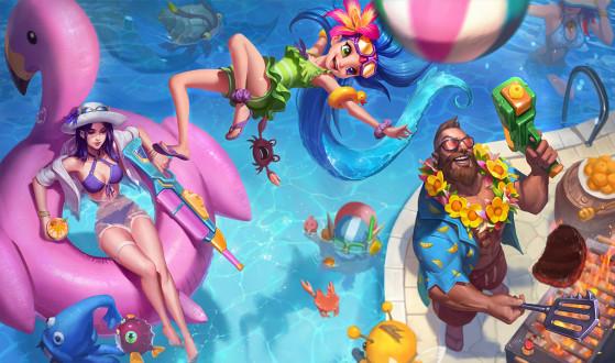 Gangplank Curtindo o Verão - League of Legends