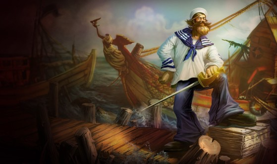 Gangplank Marujo - League of Legends